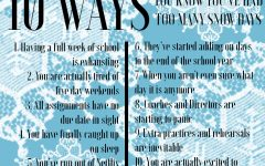 10 Ways: You Know You've Had Too Many Snow Days