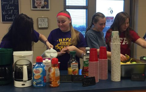 FFA Provides Teacher Appreciation Breakfast