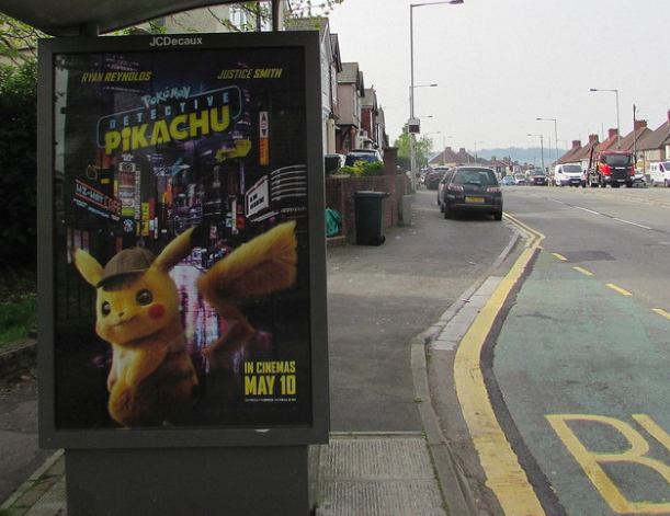 %E2%80%9CDetective+Pikachu+poster+can+be+seen+in+Newport%2C+England%E2%80%9D