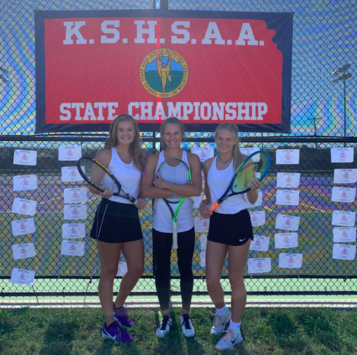 The three state qualifiers before they play in the Pittsburgh state meet. They all played on Friday, but didn't make it to day two (Photo Submitted by PDelgado).