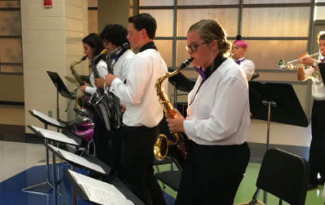 Jazz Band Performs For the First Time This Year