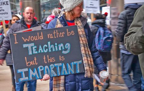 Chicago Teachers Strike Through Day Eight
