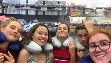 Me and my goofball friends at Five Below.