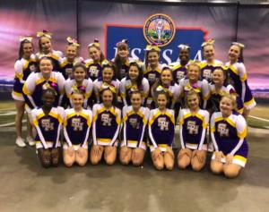 Cheerleaders Compete at State, on Nov. 23