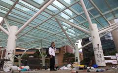 Hong Kong Protests Run Down