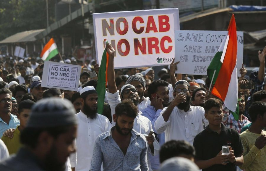 On Dec. 18, protests break out in Mumbai, India after India's Supreme Court postpones hearings against the Amendment to the 1955 citizenship act. As the protests swelled the government caused internet shutdown.