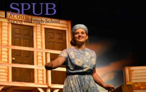 """Maggie McNally, 10 performs in the school musical, """"Crazy for You."""