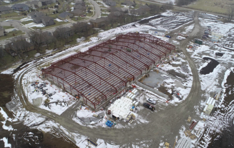 A northwest view of the educational support building that is being build through the 2018 bond. An update on all the bonds was given to the board on Feb. 10 (Photo courtesy of board docs).