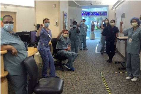 Nurses at a California hospital were not being provided with proper masks that could help keep them safe from contracting COVID-19. They are faced with the same problem as healthcare professionals from across the country: dangerous circumstances with improper equipment and compensation (photo courtesy of AP News).