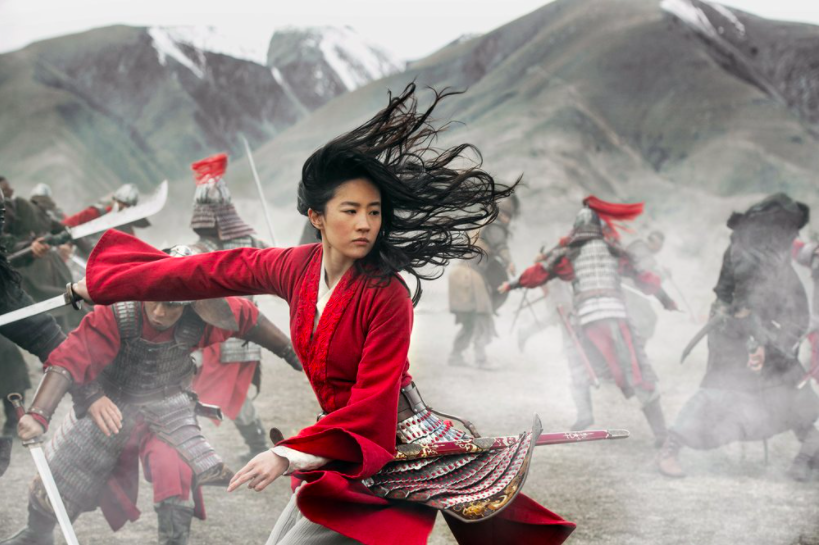 """Disney's live-action adaptation of the animated classic """"Mulan"""" is visually stunning, but also quite different from the original (photo courtesy of Disney/AP News)."""