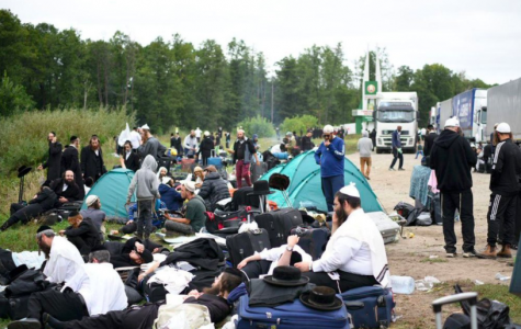 About 700 Jewish pilgrims have been denied access to the city of Uman due to Ukraine's COVID restrictions (photo courtesy AP News).