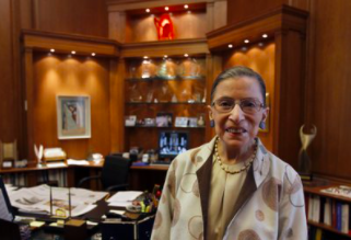 On Sept. 18, Supreme Court Justice Ruth Bader Ginsburg passed away, due to complications with metastatic pancreatic cancer (photo courtesy AP News).