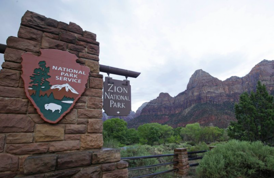 Holly Courtier went missing in Zion National Park two weeks ago. Although she had very little food and water, she managed to survive and was recently found (photo courtesy AP News).