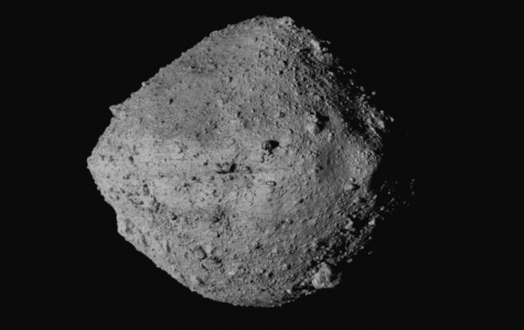 US Spacecraft Osiris-Rex made contact with an asteroid, the first from the US to do so. It should return with its findings in a few years (photo courtesy AP News).