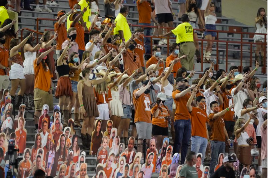 Students at the University of Texas have been calling for the school to stop singing