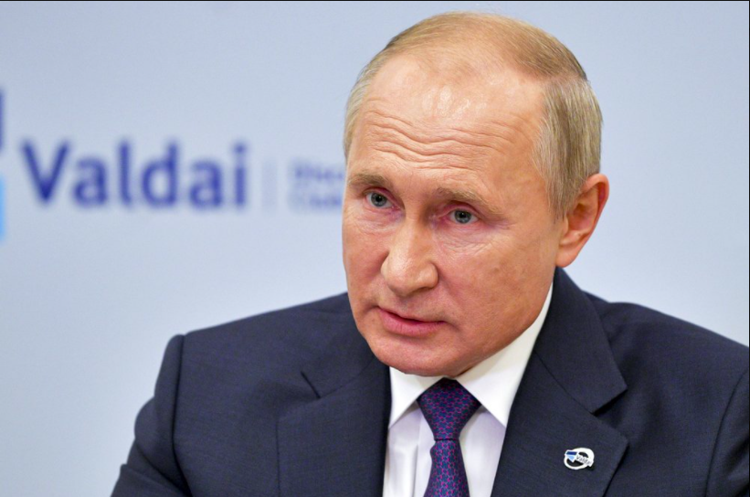 President Vladimir Putin of Russia said he would be willing to have NATO inspect Russia's military bases for nuclear weapons, provided Russia could also inspect the U.S.' (photo courtesy AP News).