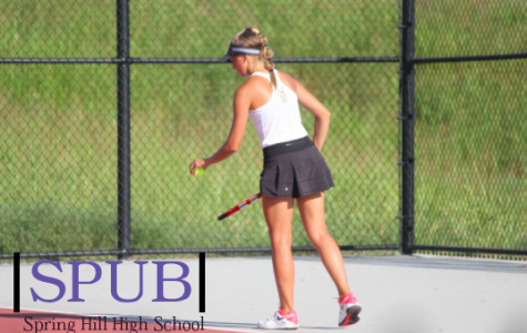 Girls tennis and golf seasons are coming off to an end with many great wins throughout the season (photo credit A. Shetlar).