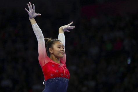 U.S. gymnast Sunisa Lee is not letting the pandemic affect her performance or dedication to her sport (photo courtesy AP News).