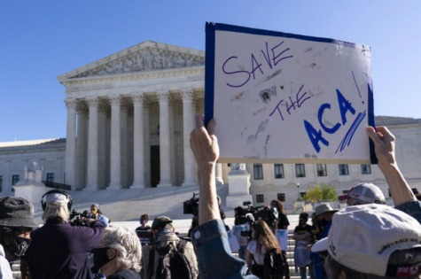 "On Tuesday, Nov. 10, arguments were heard in the Supreme Court about the Affordable Care Act. Also known as ""Obamacare,"" this act has been very controversial since its creation (photo courtesy AP News)."