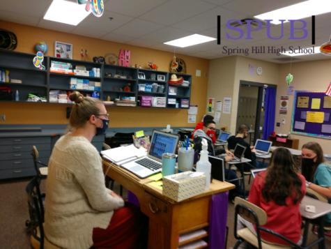 On Nov. 23, Laura Seifert, substitute teacher, stood in for Kelsea Stueve, Spanish teacher