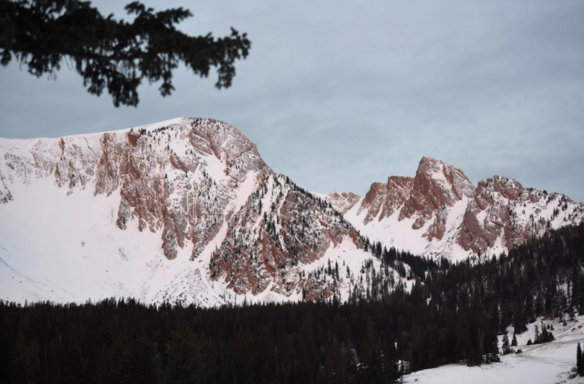 Bridger Mountain Range in Montana is normally a hotspot for those who enjoy skiing and snowboarding during the winter months. However, due to the COVID-19 pandemic they have had to adapt (photo courtesy AP News).