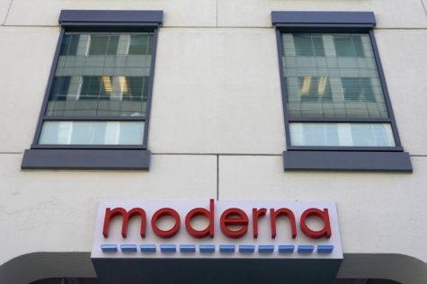 The Moderna, Inc. headquarters in Cambridge, Mass. The FDA is considering greenlighting Moderna