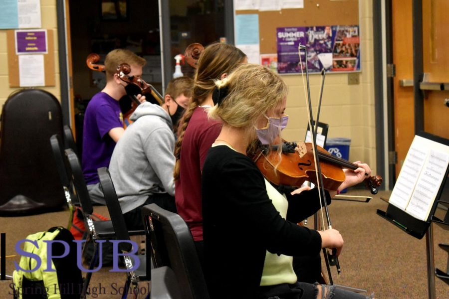 Orchestra Plays Before Concert