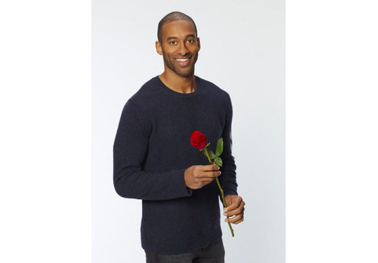 Matt James, season 25's bachelor, is the first Black man to be bachelor in the history of the show. Since then, contestants and hosts alike have come under fire for racist commentary and other things (photo courtesy AP News).