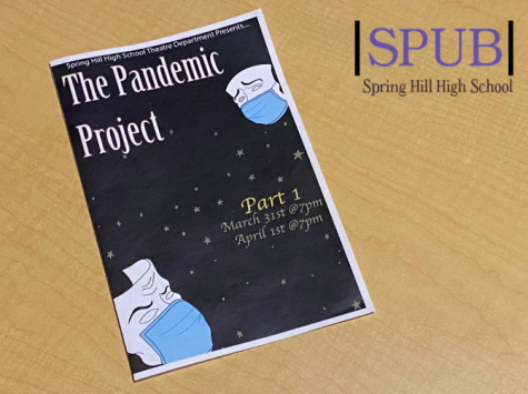 The Pandemic Project is the theater departments unorthodox spring production. Part one was performed March 31 and April 1, and part two will be performed April 9-10 (photo credit T. Dent).