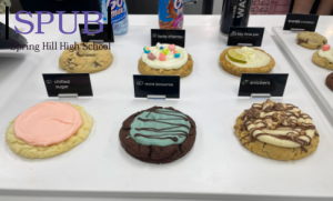 Gourmet cookies and ice cream in a variety of flavors makes Crumbl Cookies a must for all those who like baked goods (photo credit M. Sutton).