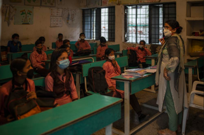 India Attempts to Send Students Back to School