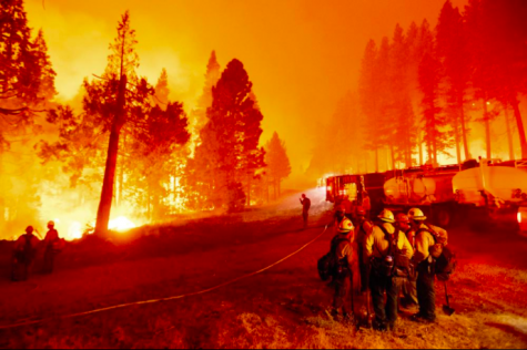 The wildfires of Northern California are drastically spreading once again (Photo courtesy AP News).